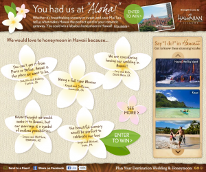 "Hawaii Visitors and Convention Bureau ""You Had Us At Aloha"" Sweepstakes"